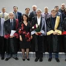 Presentation of the honorary doctorate